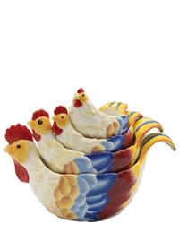 Chanticleer Measuring Cups