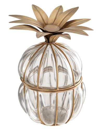 Ananas Art Deco Jar