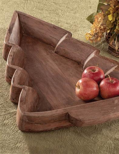 Walnut Tannenbaum Serving Platter