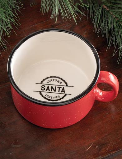Santa Certified Mug (Set Of 2)