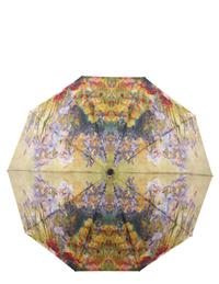 Tiffany Peonies & Iris Folding Umbrella
