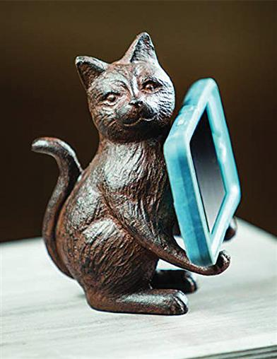 Tabby Cat Cell Phone Holder
