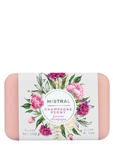 Mistral Champagne & Peony Luxury Bar Soap