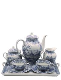 Blue Willow Tea Set