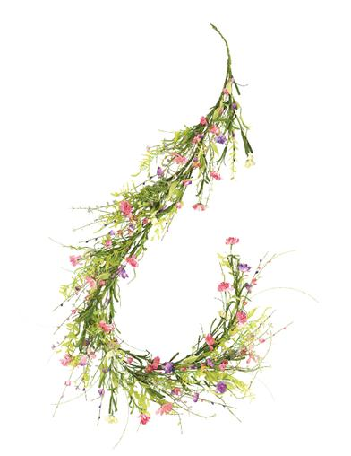 Winsome Wildflowers Garland