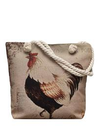 French Hen Tapestry Bag