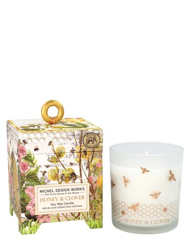 Honey And Clover Soy Candle
