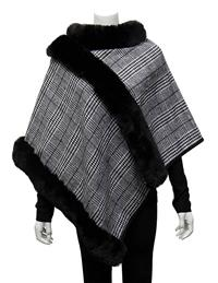 Wuthering Heights Plaid Cape