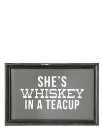 Whiskey In A Teacup Wall Decor