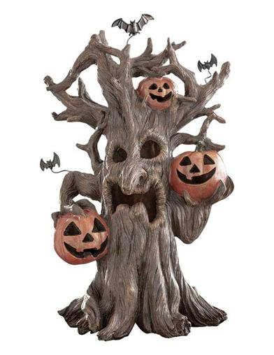 Animated Haunted Hollow Tree