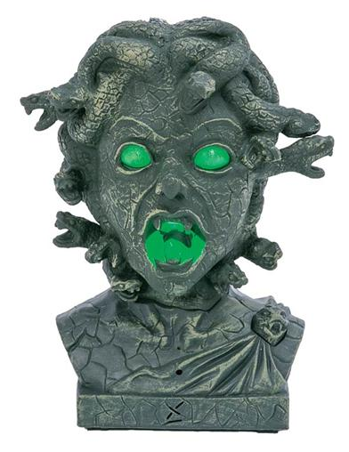 Interactive Bust Of Medusa