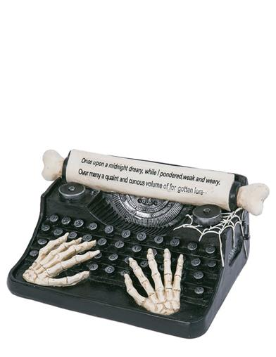 Interactive Last Words Typewriter