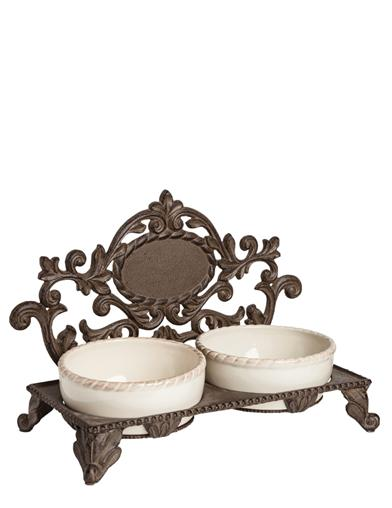 Baroque Pet Feeder From G G Collection