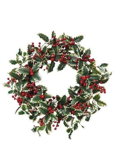 Holly & Berry Wreath