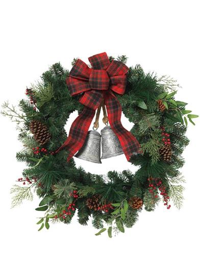 Heart Of The Holidays Wreath