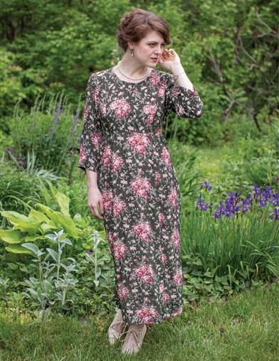 April Cornell Viola Rose Dress