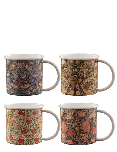 William Morris Masterwork Mugs (Set Of 4)