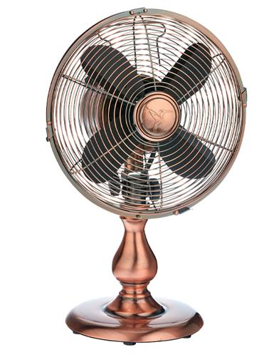 Vintage Copper Table Fan