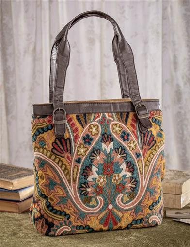 Beautiful Boho Stitched Purse