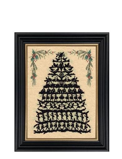 12 Days Of Christmas Framed Print