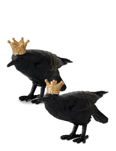 Royal Raven Figurines
