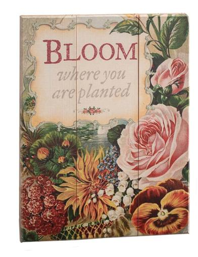 Bloom Where You Are Planted Wall Art