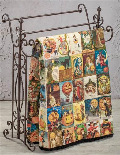 Victorian Greetings Halloween Quilt