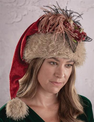 Madame Claus Christmas Hat