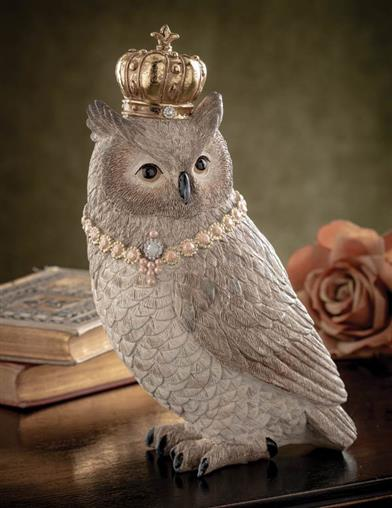 Athena The Owl Statuette