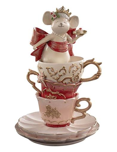 Regina The Royal Tea Party Mouse Figurine