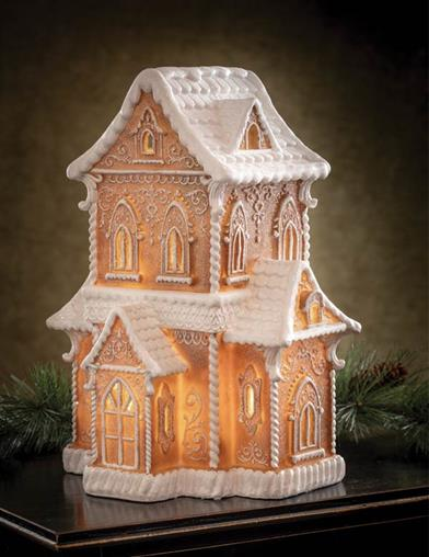 The Land Of Sweets Light-up Gingerbread House