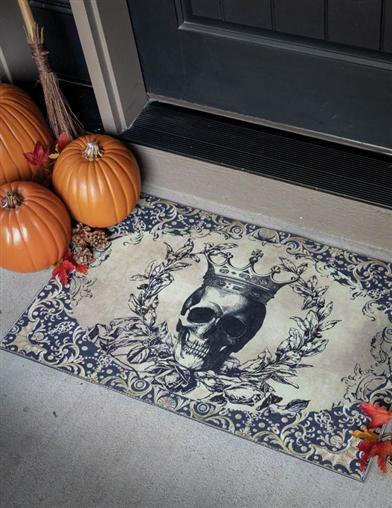 At Death's Door Mat