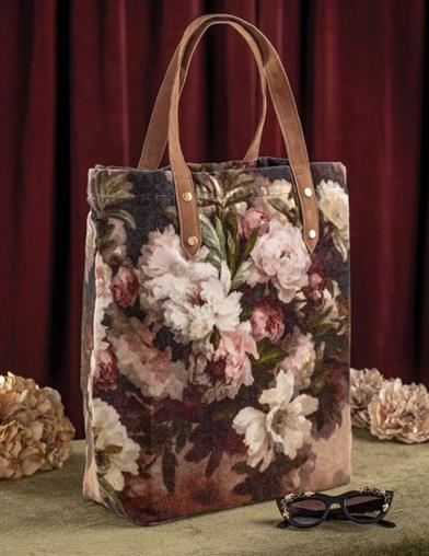 Blooming Bouquet Tapestry Tote