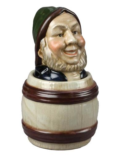 Baron Of The Barrel Porcelain Jar