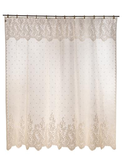 Chantilly Lace Shower Curtain
