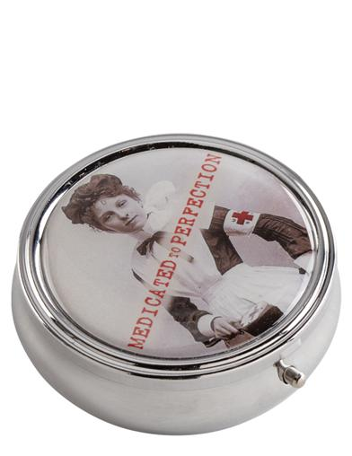 Medicated To Perfection Pill Box