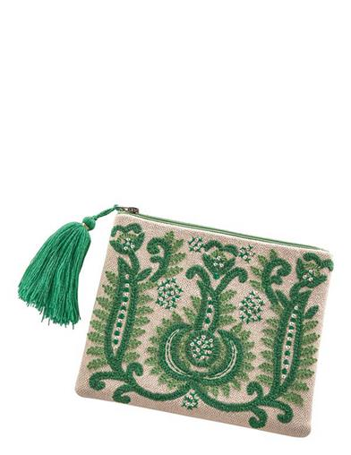 Enchanted Isle Zipper Pouch