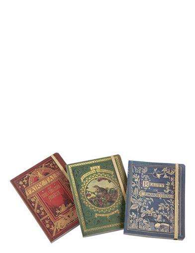 Dusty Covers Archival Art Journals (Set Of 3)