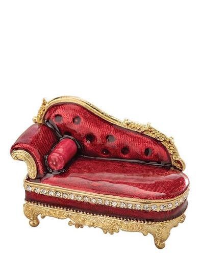 Scarlet Sofa Trinket Box