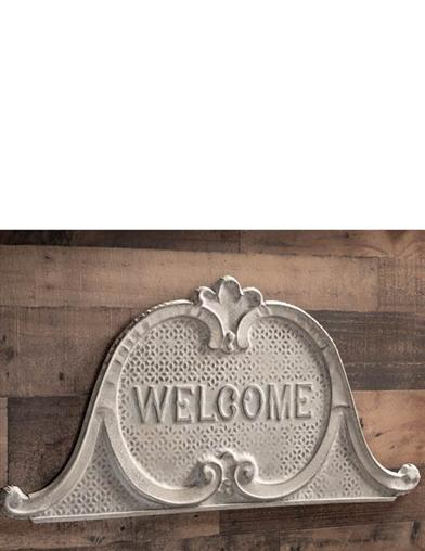 Weathered Welcome Sign