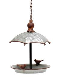 Galvanized Gazebo Bird Feeder