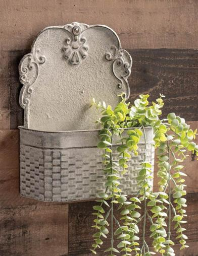 Timeworn Wall Planter