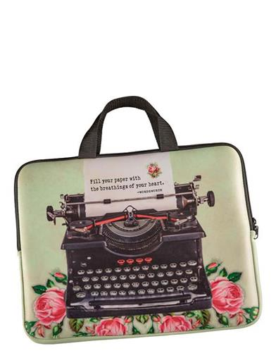 Vintage Typewriter Laptop Bag