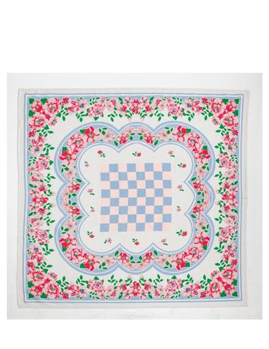 Charming Checkerboard Tablecloth