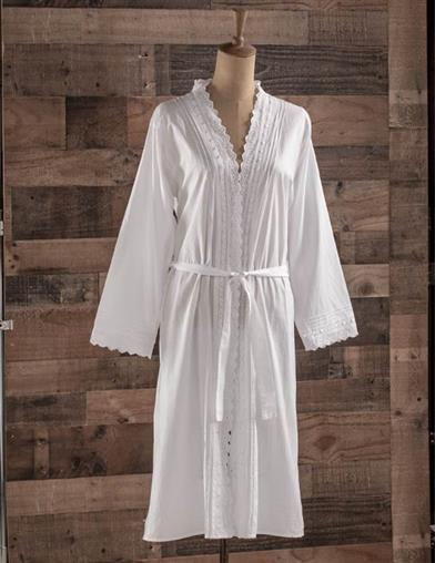 Lydia Embroidered Robe