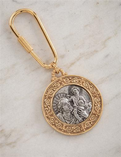 St. Christopher Key Fob