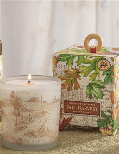 Fall Harvest Soy Wax Candle