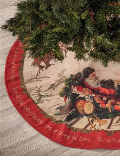 'Twas The Night Before Christmas Tree Skirt
