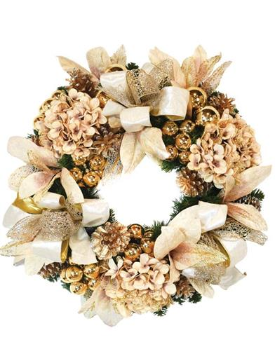 Winter's Wonder Holiday Wreath