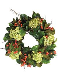 Deck The Halls Floral Holiday Wreath